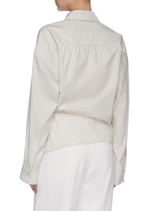 Back View - Click To Enlarge - LEMAIRE - Twisted Shirt