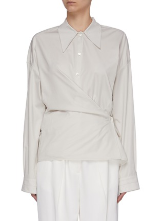 Main View - Click To Enlarge - LEMAIRE - Twisted Shirt