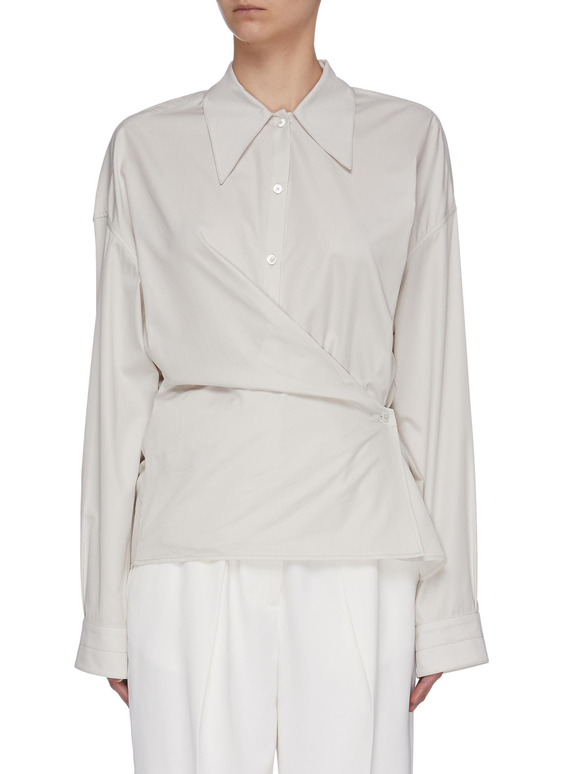 Buy Lemaire Tops Twisted Shirt