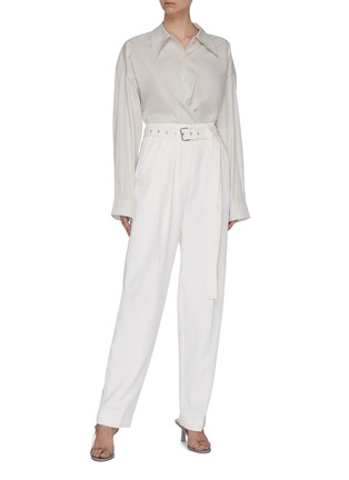 Figure View - Click To Enlarge - LEMAIRE - Twisted Shirt
