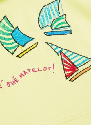 - MIRA MIKATI - Sailing boat embroidered hoodie