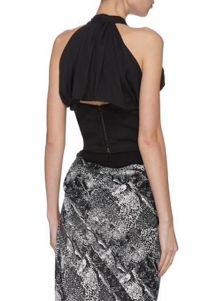 Back View - Click To Enlarge - MATICEVSKI - 'Chrysalis' sleeveless bodice top