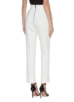 Back View - Click To Enlarge - MATICEVSKI - 'Prolific' ruffle detail suiting pants