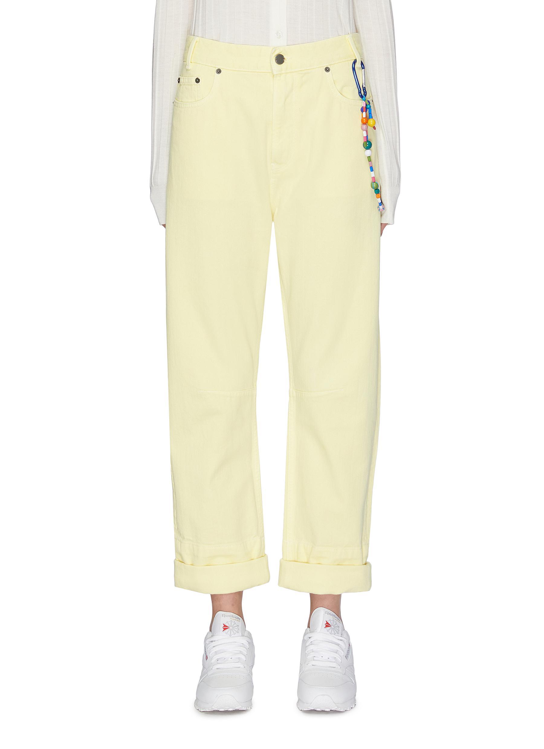 shop Mira Mikati Keyring Spray Paint Jeans online