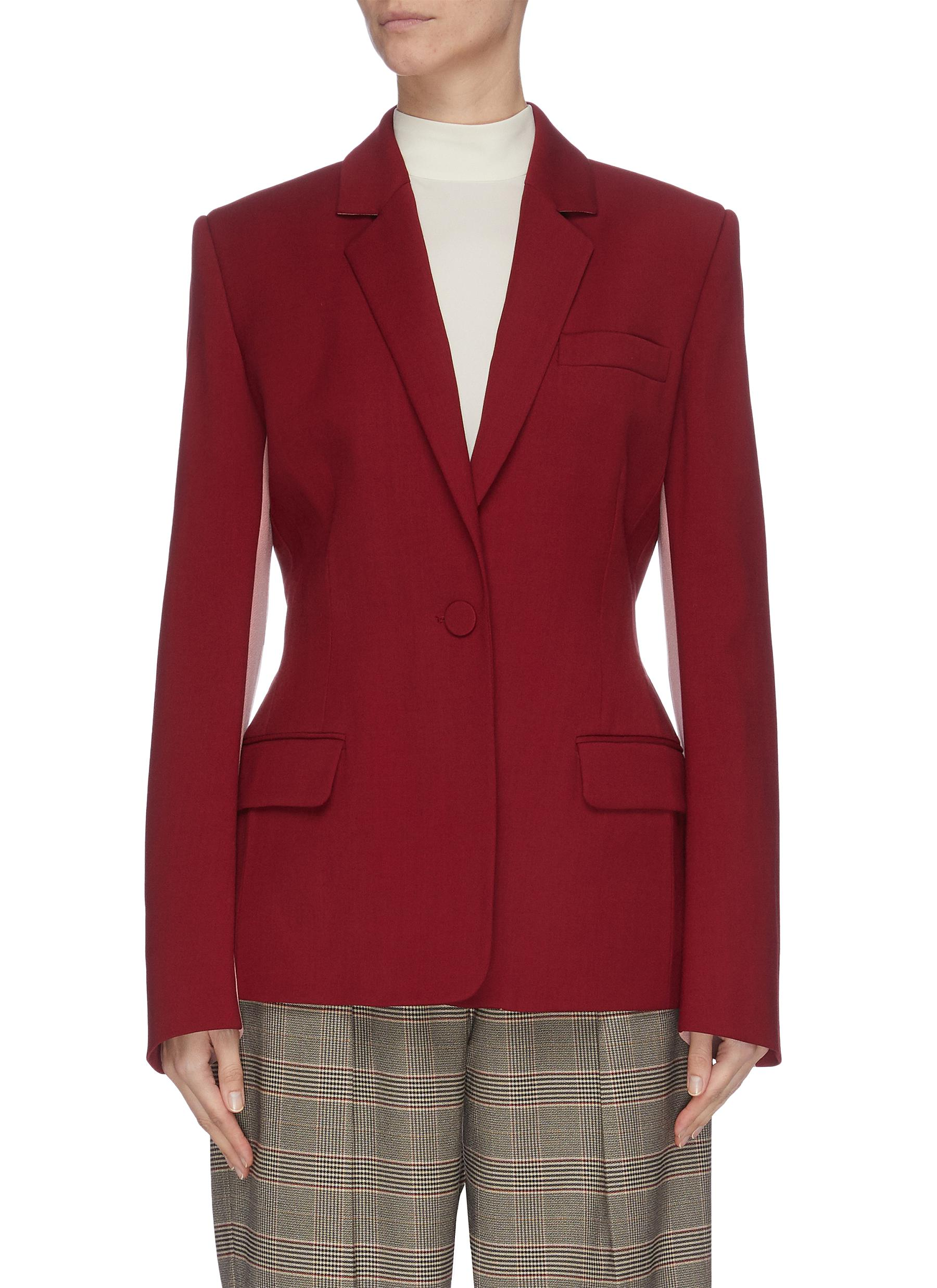 shop Roksanda 'Loa' panelled colourblock twill blazer online