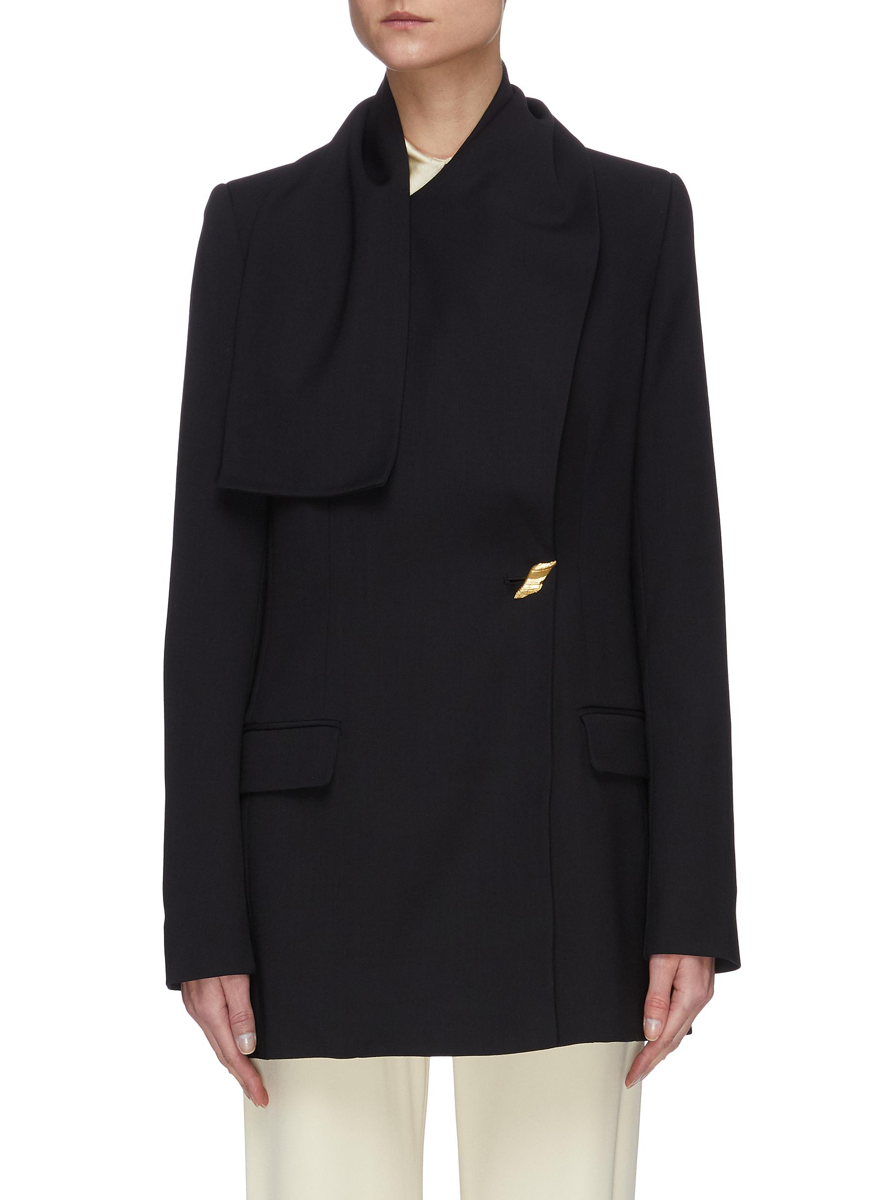 shop Roksanda Twist Collar Dakota Blazer online