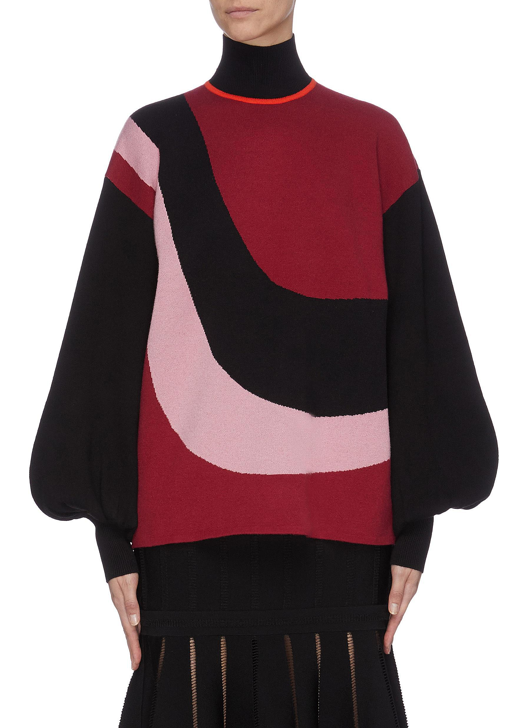 shop Roksanda 'Mylo' colourblock knit top online