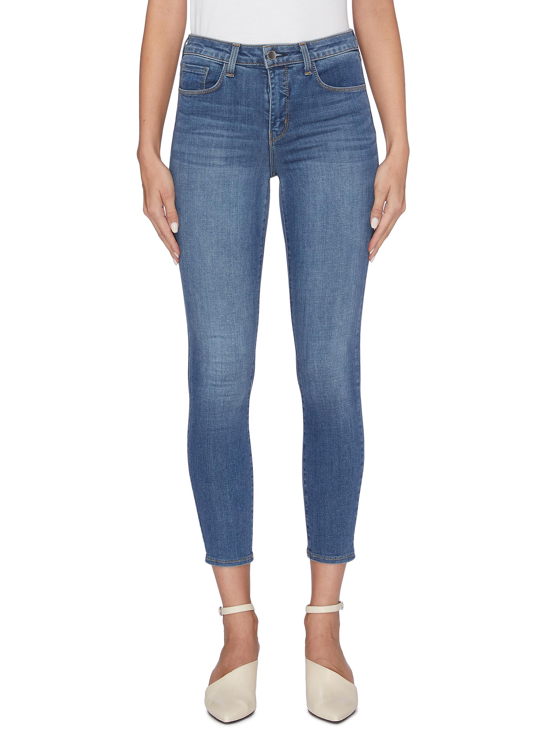 Buy L'Agence Jeans 'Margot' cropped skinny jeans