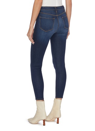Back View - Click To Enlarge - L'AGENCE - 'Margot' cropped skinny jeans