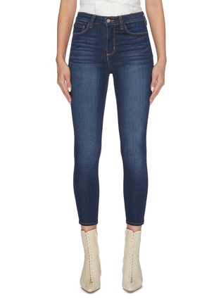Main View - Click To Enlarge - L'AGENCE - 'Margot' cropped skinny jeans