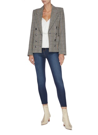 Figure View - Click To Enlarge - L'AGENCE - 'Margot' cropped skinny jeans