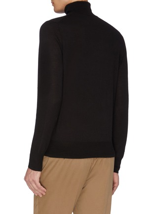 Back View - Click To Enlarge - EQUIL - Turtleneck top