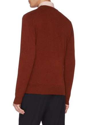 Back View - Click To Enlarge - EQUIL - Crew neck cashmere sweater