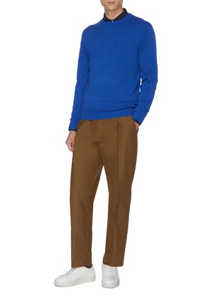 Figure View - Click To Enlarge - EQUIL - Crew neck cashmere sweater