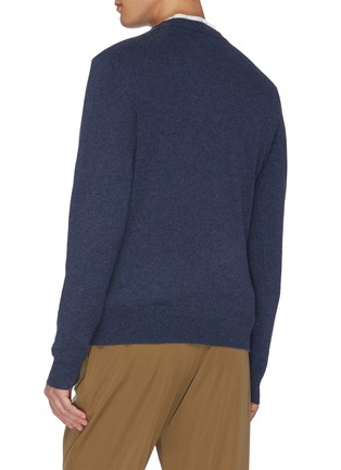 Back View - Click To Enlarge - EQUIL - Crew neck cashmere top