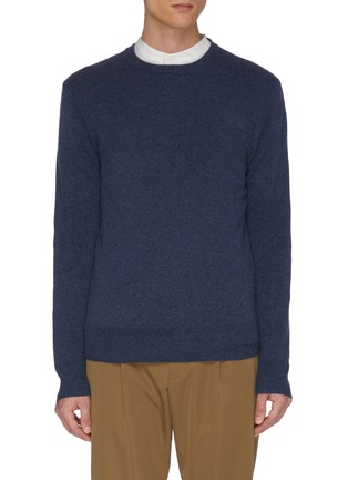 Main View - Click To Enlarge - EQUIL - Crew neck cashmere top