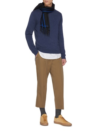 Figure View - Click To Enlarge - EQUIL - Crew neck cashmere top