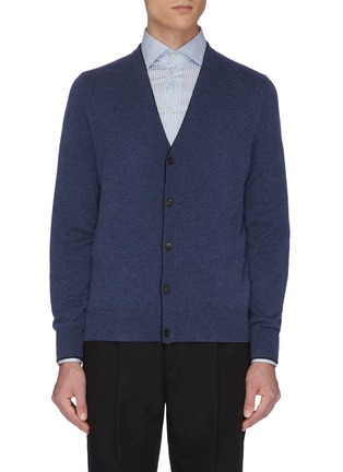 Main View - Click To Enlarge - EQUIL - Button up cashmere cardigan