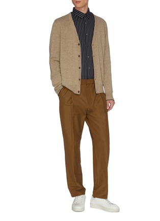 Figure View - Click To Enlarge - EQUIL - Button up cashmere cardigan