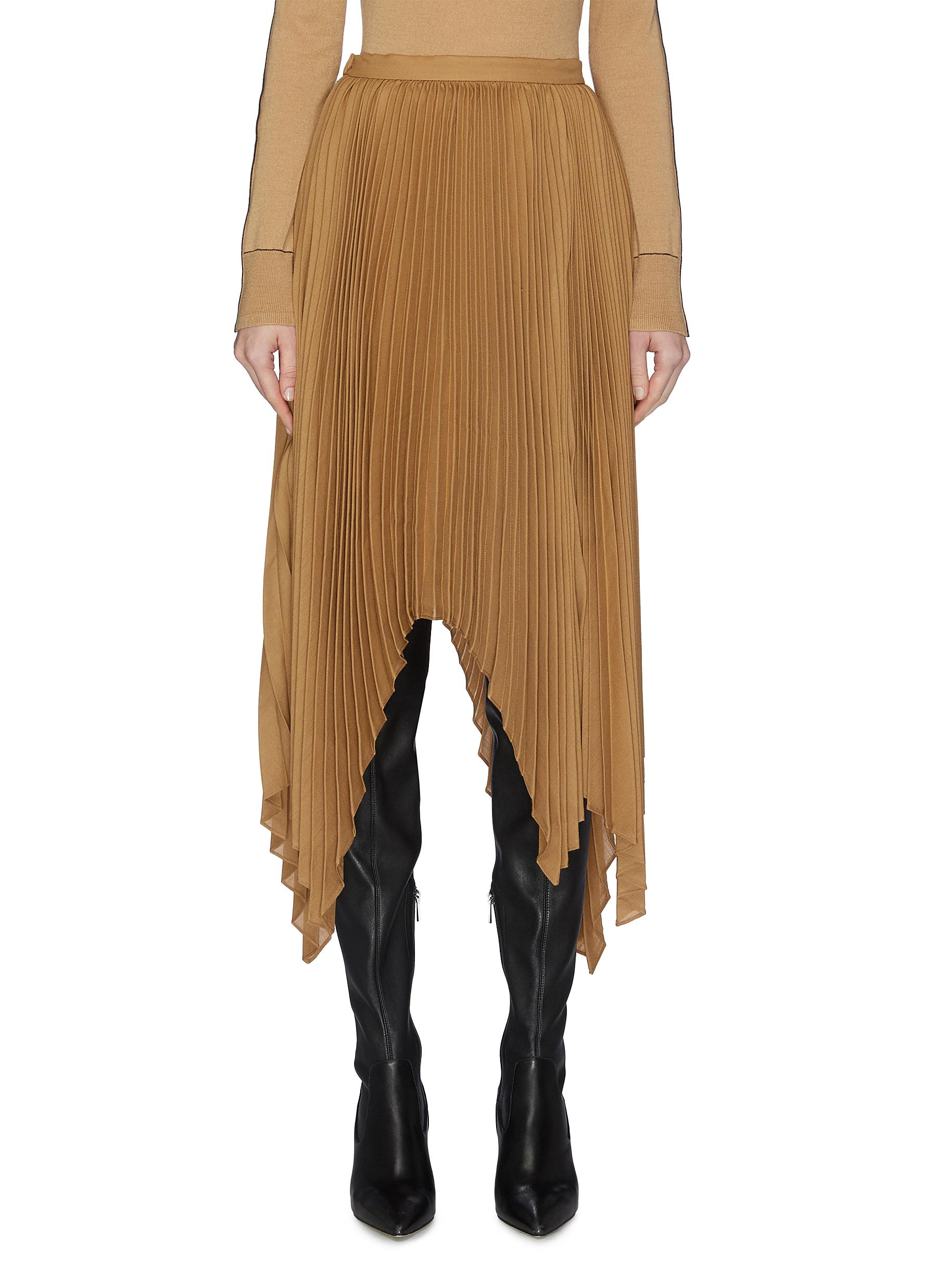 Buy Equil Skirts Pleated asymmetric skirt