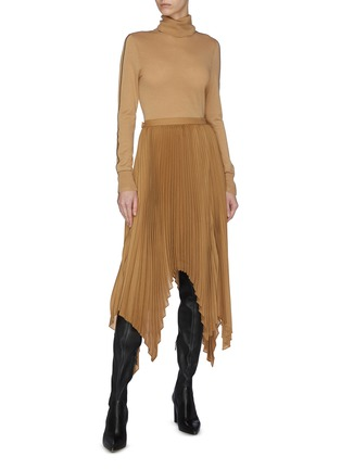 Figure View - Click To Enlarge - EQUIL - Pleated asymmetric skirt