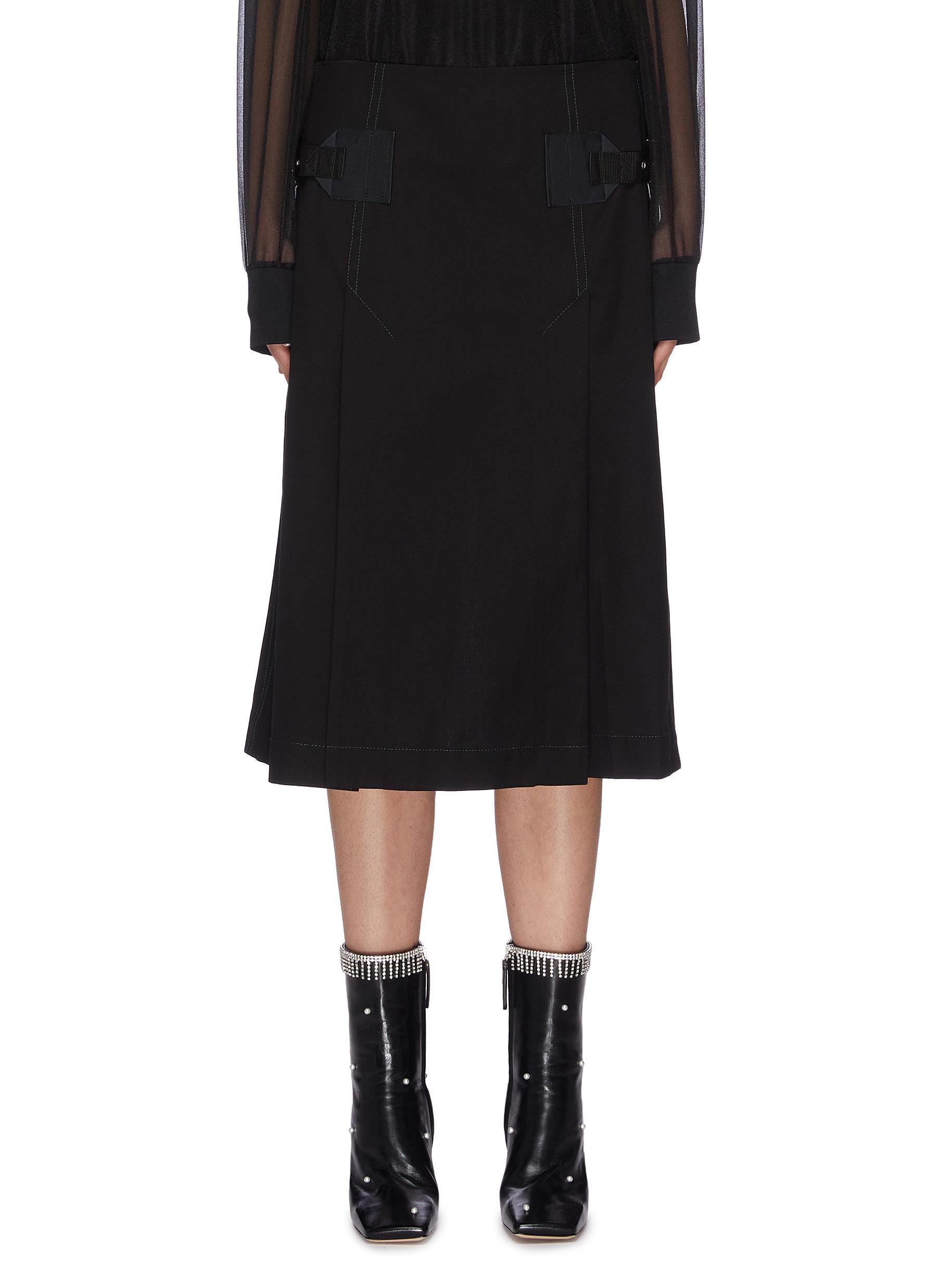 shop Toga Archives Wide Leg Culottes Shorts online