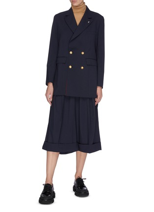 Figure View - Click To Enlarge - TOGA ARCHIVES - Double breast suiting blazer
