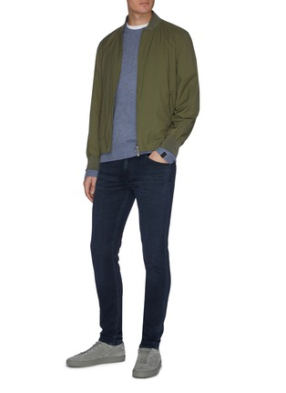 Figure View - Click To Enlarge - J BRAND - 'Mick' dark wash skinny jeans
