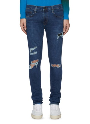 Main View - Click To Enlarge - J BRAND - 'Mick' ripped skinny jeans