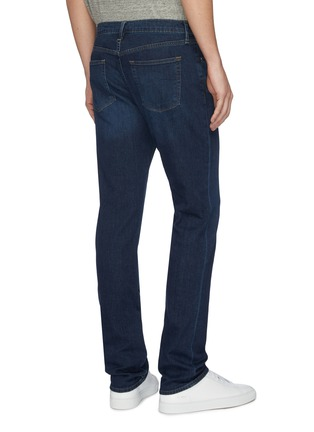 Back View - Click To Enlarge - J BRAND - 'Kane' whiskering straight fit jeans