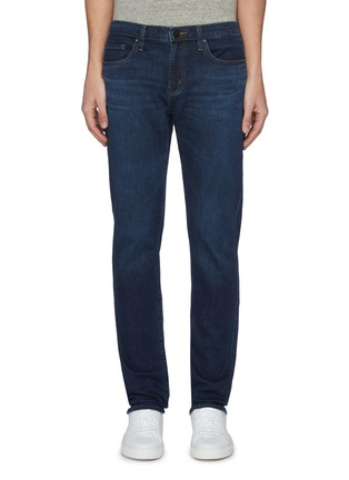 Main View - Click To Enlarge - J BRAND - 'Kane' whiskering straight fit jeans
