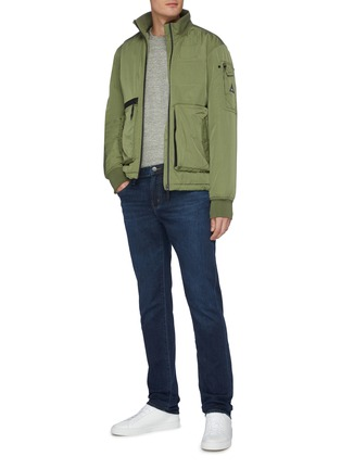 Figure View - Click To Enlarge - J BRAND - 'Kane' whiskering straight fit jeans