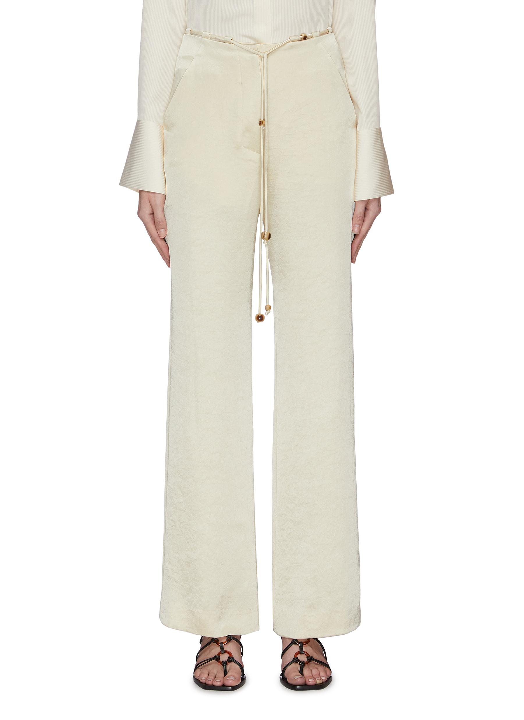 shop Nanushka Drawstring crop pants online
