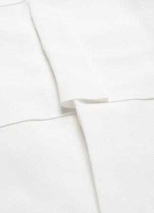 - PROENZA SCHOULER - Belted waist cutout flared sleeveless mini dress