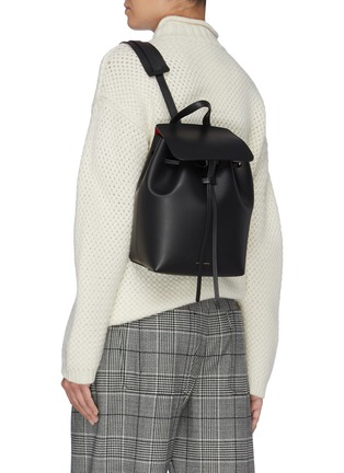 Figure View - Click To Enlarge - MANSUR GAVRIEL - 'Cammello Mini' leather backpack