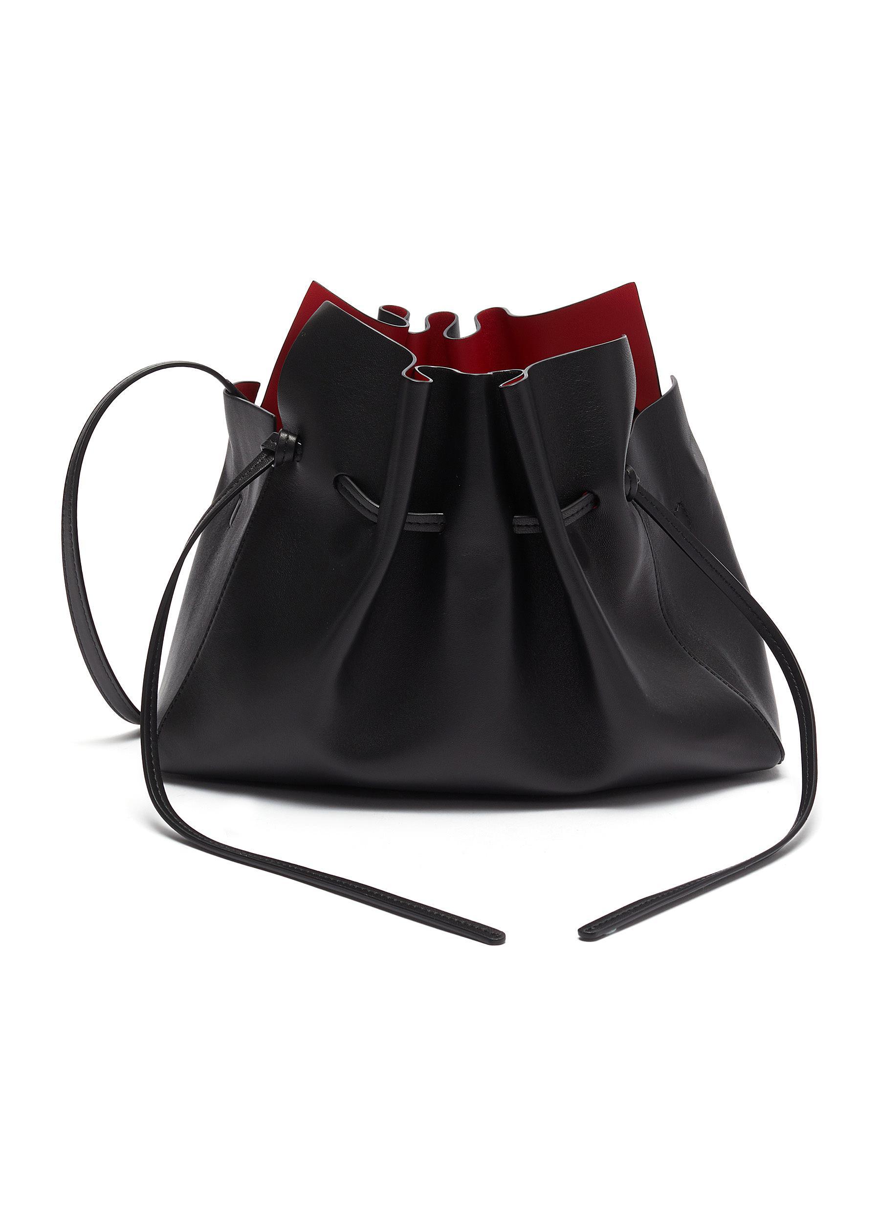 Mansur Gavriel 'Protea' Mini Leather Bag