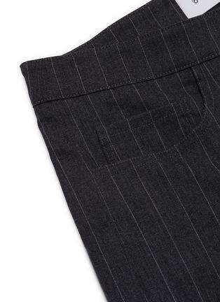 - 16ARLINGTON - 'Wallis' pinstripe slit jeans