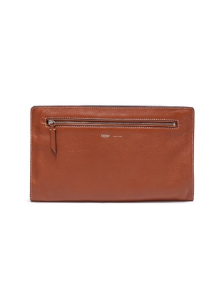 Main View - Click To Enlarge - MÉTIER - 'Runaway I' buffalo leather envelope pouch