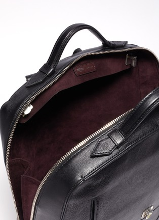 Detail View - Click To Enlarge - MÉTIER - 'Rider' buffalo leather backpack