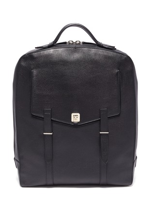 Main View - Click To Enlarge - MÉTIER - 'Rider' buffalo leather backpack