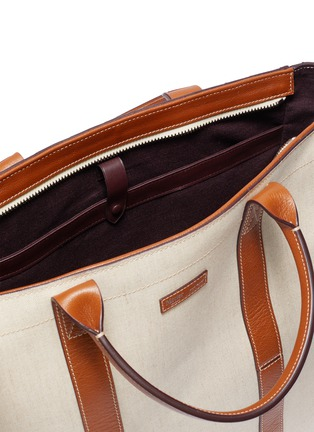 Detail View - Click To Enlarge - MÉTIER - 'Mariner' canvas tote bag