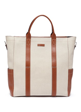 Main View - Click To Enlarge - MÉTIER - 'Mariner' canvas tote bag