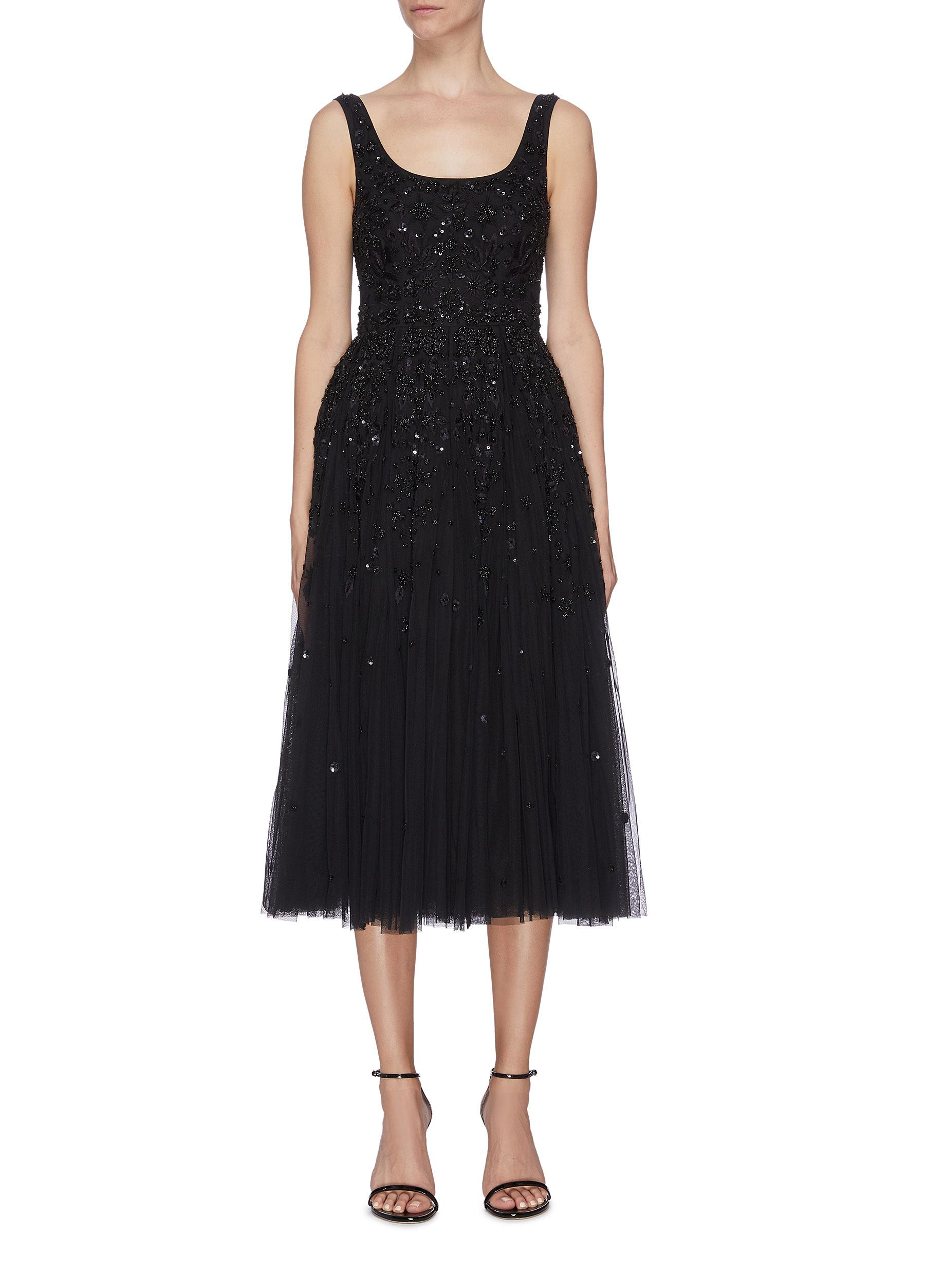 Buy Needle & Thread Dresses 'Snowflake' sequin embellished prom dress