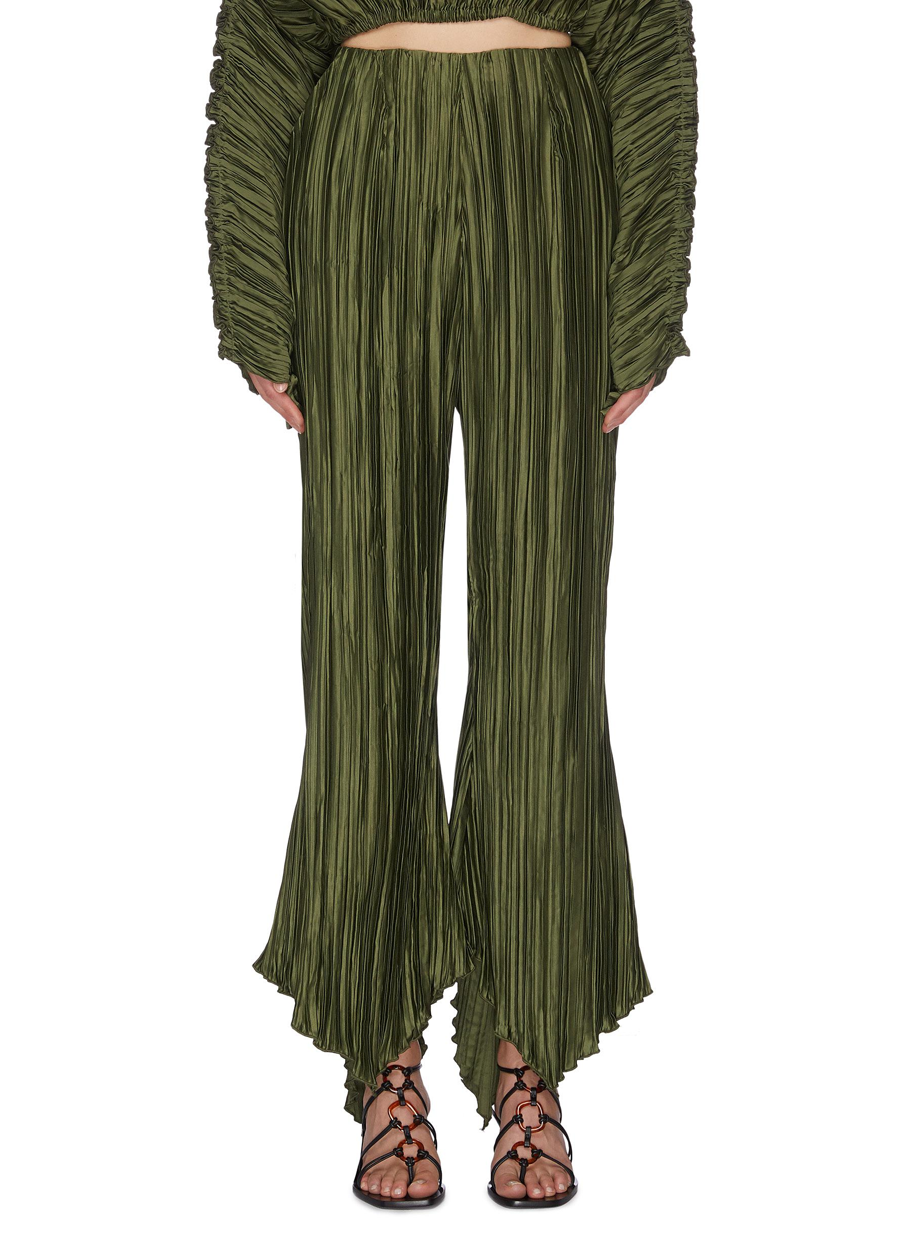 Buy Cult Gaia Pants & Shorts 'Keira' pleated pants