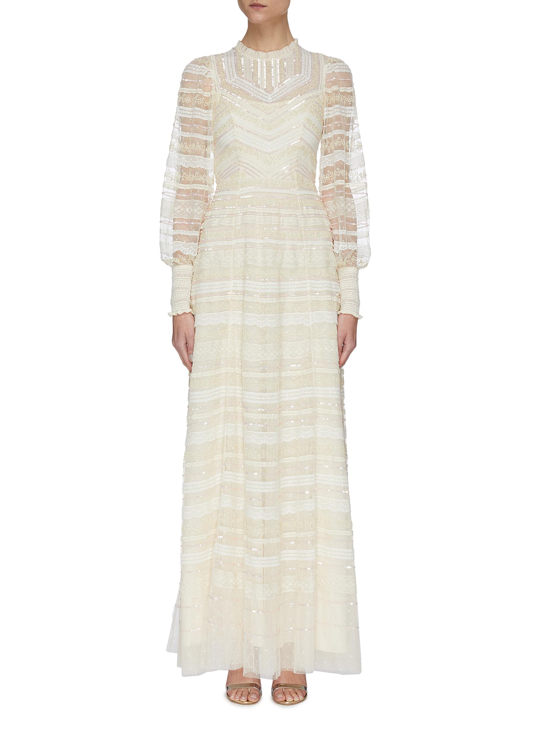 shop Needle & Thread 'Annabel' Lace Gown online