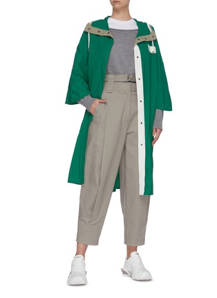 Figure View - Click To Enlarge - ARMY BY YVES SALOMON - Windbreaker coat