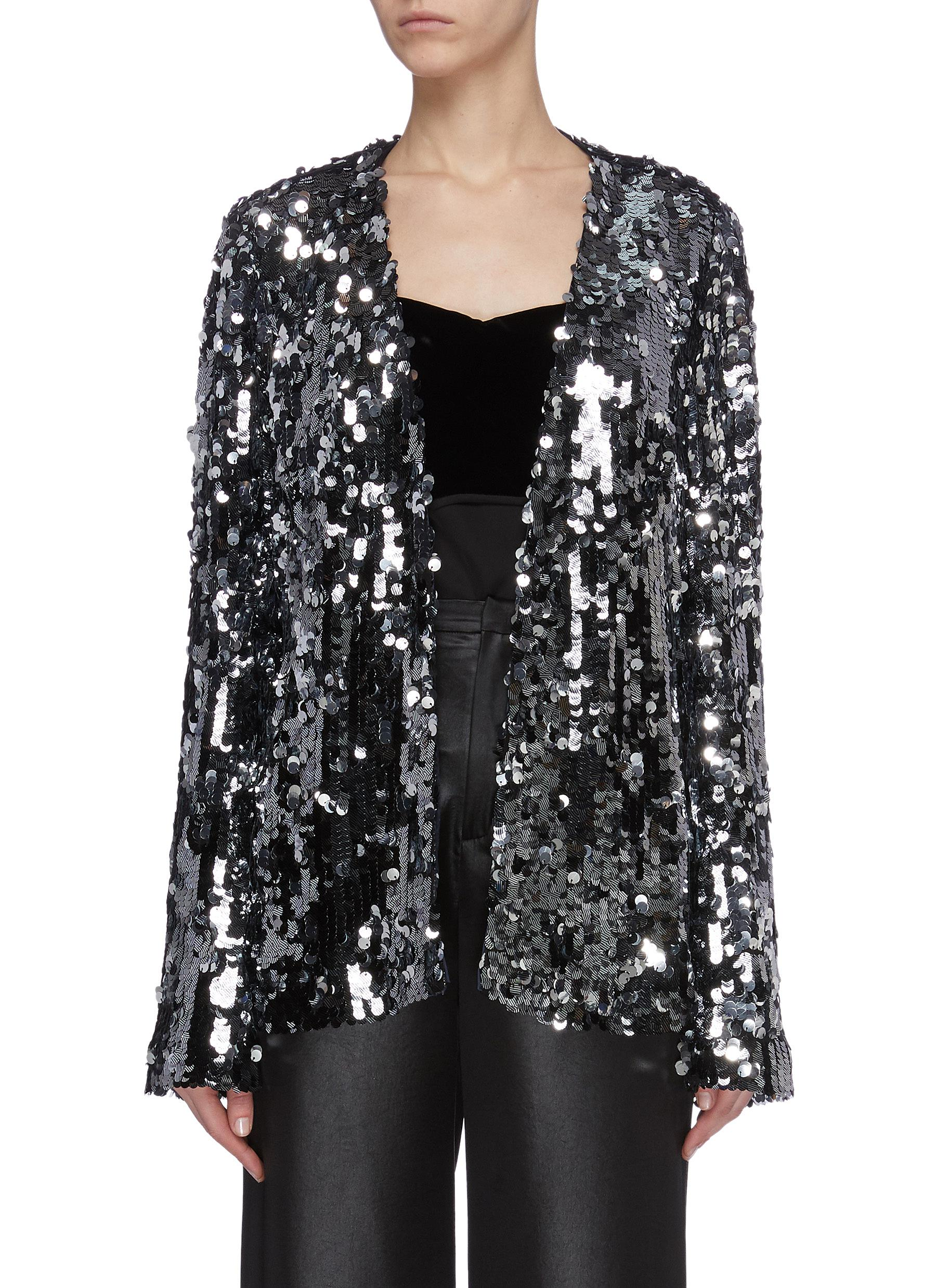 Buy Galvan London Jackets 'Gemma' sequin evening jacket