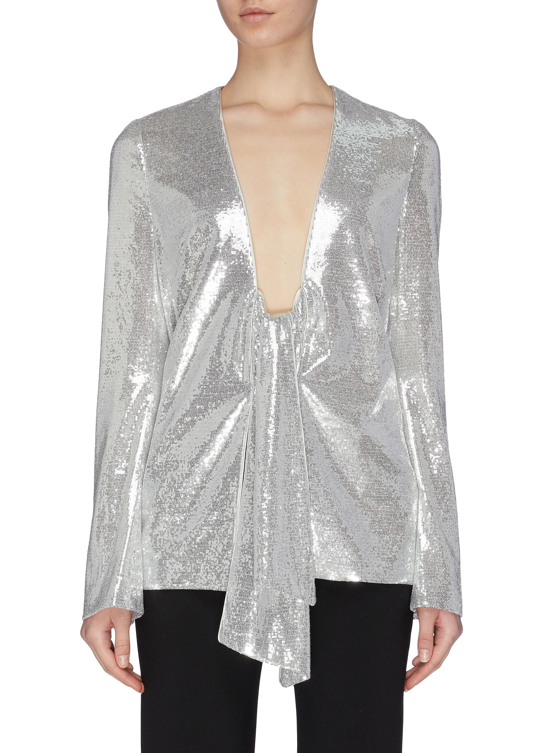 shop Galvan London 'Ando' sequin jacket online