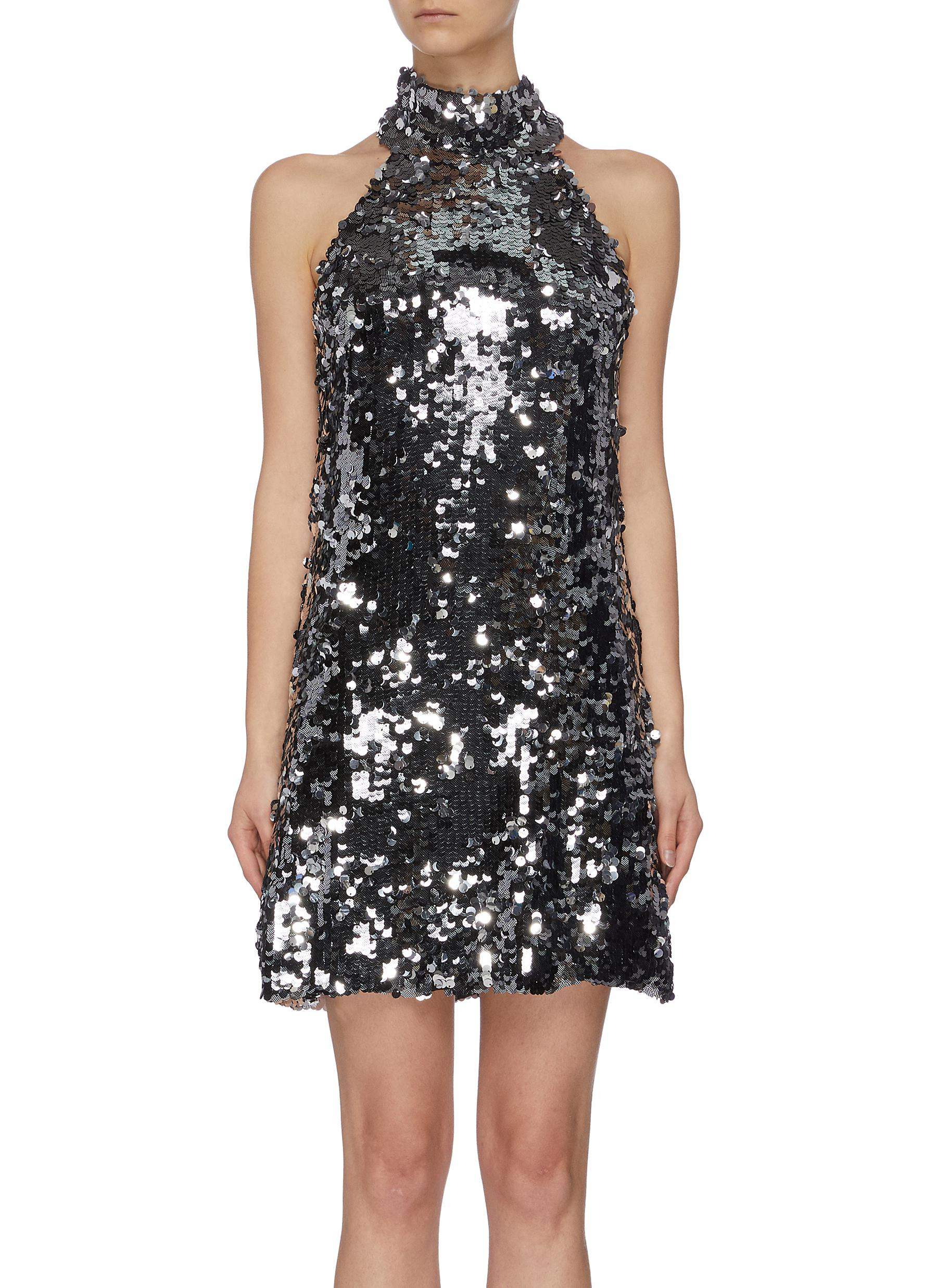 Buy Galvan London Dresses 'Gemma' sleeveless sequin mini dress