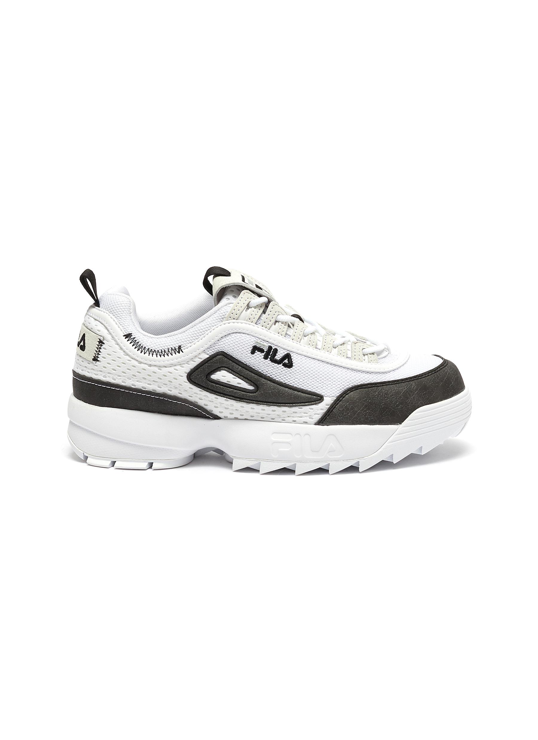 shop Fila 'Disruptor II Lite' leather panelled sneakers online